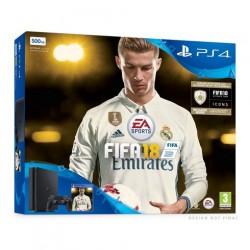 KONSOLA SONY PLAYSTATION 4 SLIM 500GB+FIFA 18 RONALDO