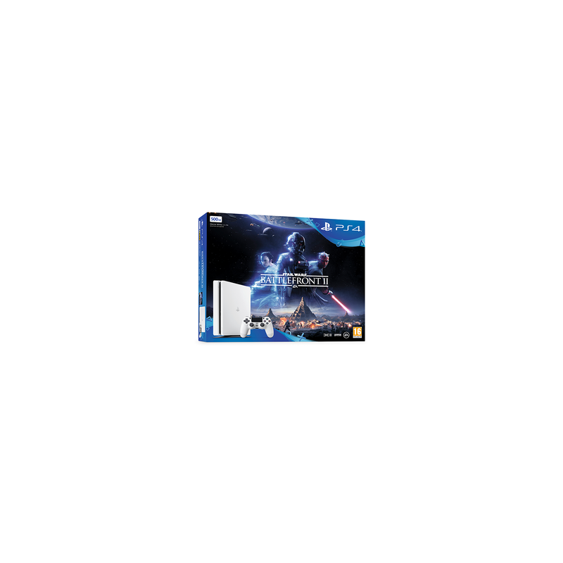 PLAYSTATION 4 SLIM 500BG+STAR WARS BATTLEFRONT 2