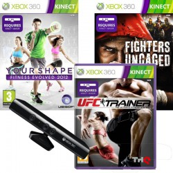 UFC TRAINER + FIGHTERS UNCAGED + YOUR SHAPE
