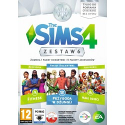 THE SIMS 4 ZESTAW 6 (PC)