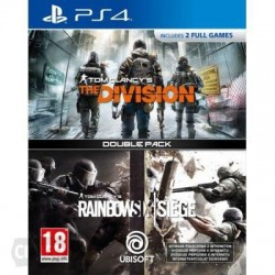 RAINBOW SIX SIEGE + THE DIVISION (PS4)