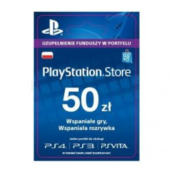 KARTA PLAYSTATION NETWORK 50zł