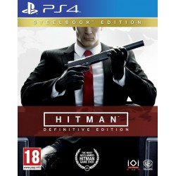 HITMAN DEFINITIVE EDITION D1 STEELBOOK (PS4)