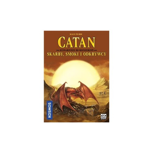 CATAN - Skarby Smoki i Odkrywcy