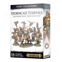 Warhammer Start Collecting! AGE OF SIGMAR ETERNALS THUNDERSTRIKE BROTHERHOOD