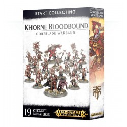 Warhammer Start Collecting! AGE OF SIGMAR KHORNE BLOODBOUND GOREBLADE WARBAND