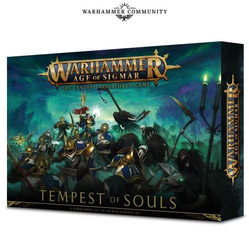 Zestaw startowy Warhammer AGE OF SIGMAR - TEMPEST OF SOULS