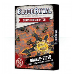 BLOOD BOWL - CHAOS PITCH & DUGOUTS