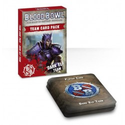 BLOOD BOWL - DARK ELF TEAM CARDS