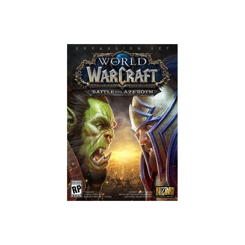 PC - WORLD OF WARCRAFT - BATTLE FOR AZEROTH