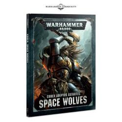 Warhammer 40:000 - SPACE WOLVES CODEX  (okładka twarda)