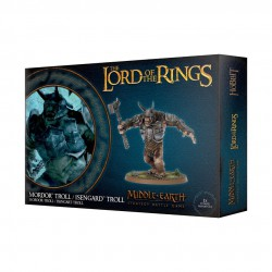 Lord of the Rings Mordor Troll Isengard Troll LotR