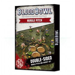 Blood Bowl - Nurgle Pitch & Dugouts