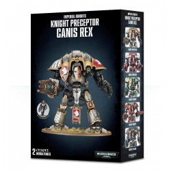 Warhammer 40:000 - Knight Preceptor Canis Rex
