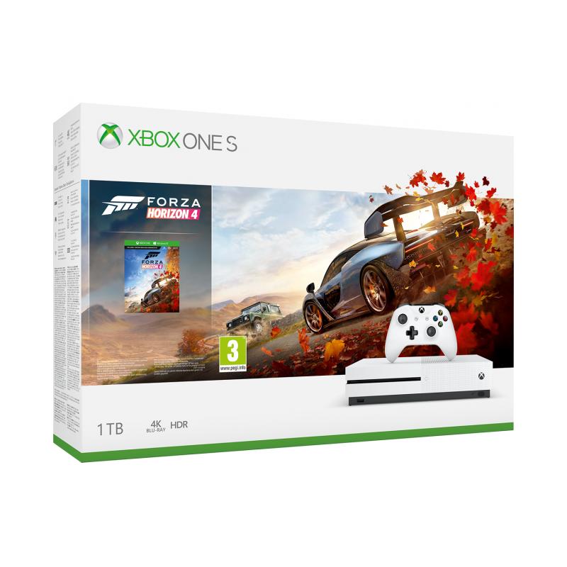 Konsola Xbox One S 1TB plus Forza Horizon 4