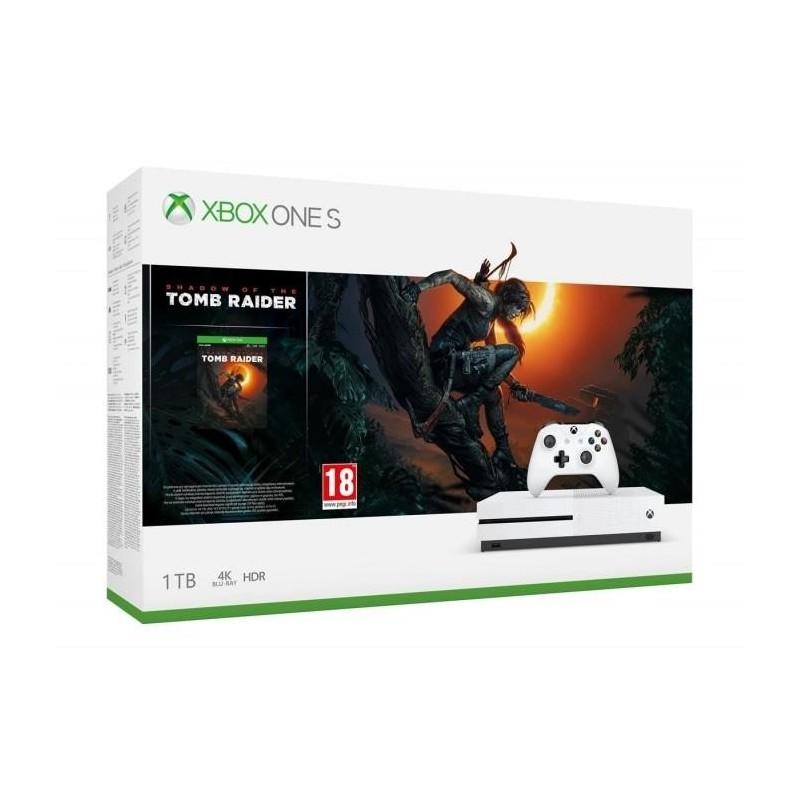 Xbox One S 1TB plus Shadow of the Tomb Raider
