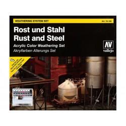 Zestaw Model Color - Rust and Steel Vallejo
