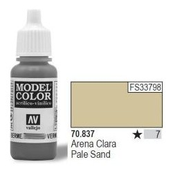 Farba Vallejo Model Color 70837 - Pale Sand 17ml