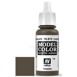 Farba Vallejo Model Color 70872 - Chocolate Brown 17ml
