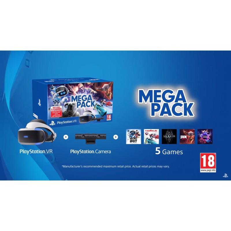 PlayStation VR Mega Pack - VR, kamera i 5 gier