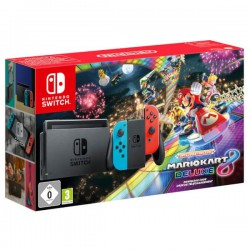 Konsola Nintendo Switch Neon Red Blue + Mario Kart Deluxe 8