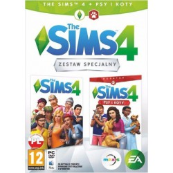 The Sims 4 + Sims 4 Psy i Koty Pc
