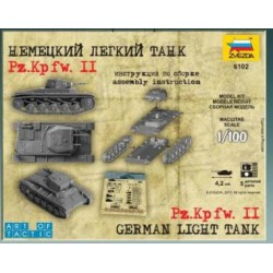 Zvezda 6102 1:100 German Light Tank Panzer II