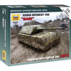 Zvezda 6213 1:100 German Tank Maus