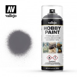 Spray Vallejo Gunmetal 400ml 28.031