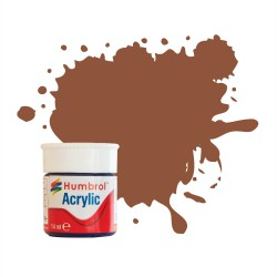 Humbrol Acrylic No 70 Brick Red Matt