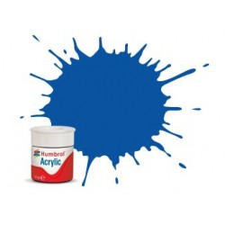 Humbrol Acrylic No 14 French Blue Gloss