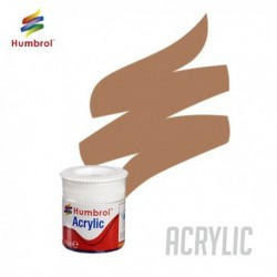 Humbrol Acrylic No 118 US Tan Matt