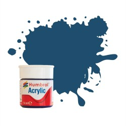 Humbrol Acrylic No 104 Oxford Blue Matt