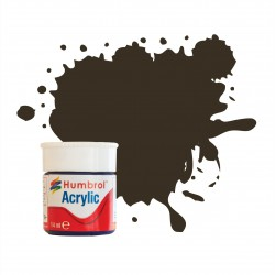 Humbrol Acrylic No 10 Service Brown Gloss