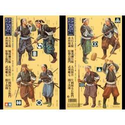 Tamiya 25411 1/35 Figurki 8 samurajów