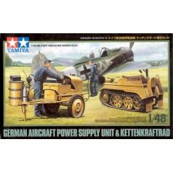 Tamiya 32533 1/48 German Kettenkraftrad w/Aircraft Power Supply