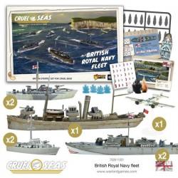 Cruel Seas British Royal Navy Fleet