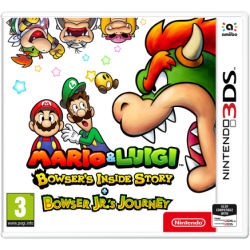 Mario & Luigi Bowsers Inside Story Bowser Jr.s Journey 3DS