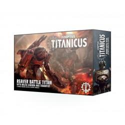 Adeptus Titanicus: Reaver Titan With Melta Cannon & Chainfist