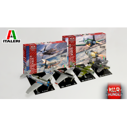 Italeri 35101 BF109 F-4 & FW 190 D9 War Thunder Video Game Series
