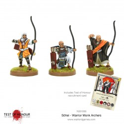 Sōhei Warrior Monk Archers Test of Honour