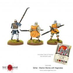 Sōhei Warrior Monks with Naginata