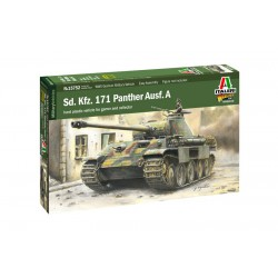 Italeri 15752 1:56 WWII Sd.Kfz.171 Panther Ausf.A