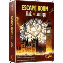 Escape Room Atak na Londyn Gra karciana