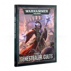 Warhammer 4000 Genestealer Cults Codex okładka twarda