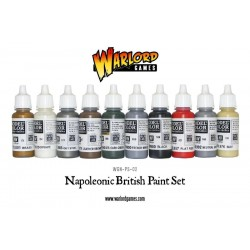 British Napoleonic Paint Set