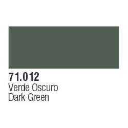Farba Vallejo Model Air Color 71012 Dark Green