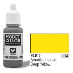 Farba Vallejo Model Color 70915 Deep Yellow