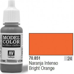 Farba Vallejo Model Color 70851 Bright Orange
