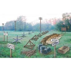Italeri 6049 1:72 Battlefield Accessories WWII
